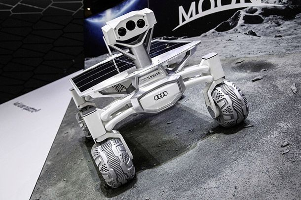 ยาน Audi Lunar Quattro เตรียมลุยดวงจันทร์ปลายปีหน้า