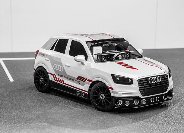 Audi พัฒนา Q2 รถโมเดลโชว์เทคโนโลยีจอดรถอัตโนมัติอัจฉริยะ