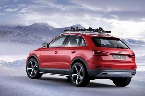 เปิดตัว Audi Q3 Vail Concept ที่งาน North American International Auto Show