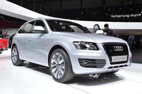 Audi Q5 Hybrid เปิดตัวที่ Geneva Motor Show ในฐานะ SUV ไฮบริดที่เบาที่สุดในโลก!