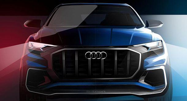 Audi จ่อเผยโฉม Q8 แฟล็กชิพเอสยูวีต้นเดือนหน้า