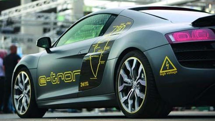 Audi R8 e-Tron ซุปเปอร์คาร์ต้นแบบพลังงานไฟฟ้า โชว์เทคโนโลยีที่ 24 Hours of Le Mans