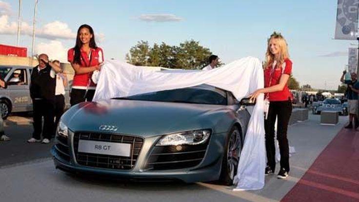 สวยกระแทกตา! Audi R8 GT Spyder เผยโฉมแล้วที่งาน 24 Hours of Le Mans