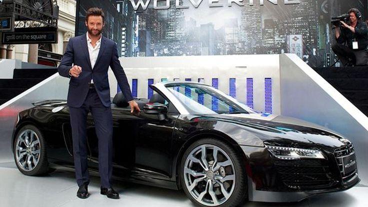 Audi R8 Spyder ออกอวดโฉมในภาพยนตร์ The Wolverine