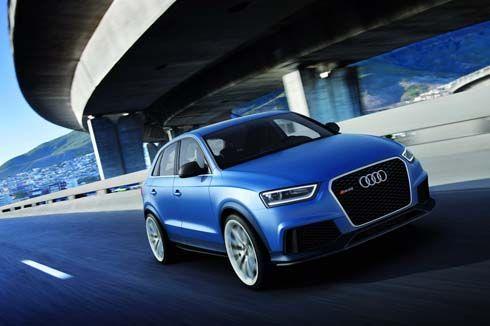 Audi RS Q3 Concept ครอสโอเวอร์สมรรถนะเหลือกำลัง 355 แรงม้า จ่อเปิดตัวที่ปักกิ่ง
