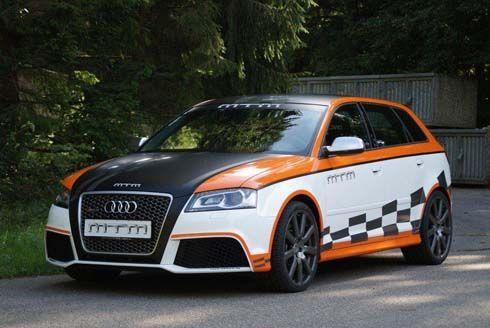 Audi RS3 Sportback แต่งพร้อมติดเทอร์โบฯโดย MTM จาก 335 ทะยานสู่ 466 แรงม้า