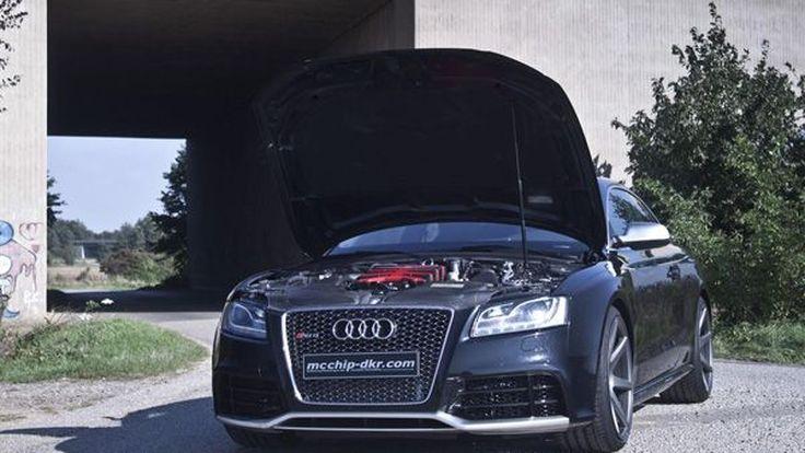 Audi RS5 พ่วงซูเปอร์ชาร์จ รีดแรงม้า 600 ตัวโดย McChip