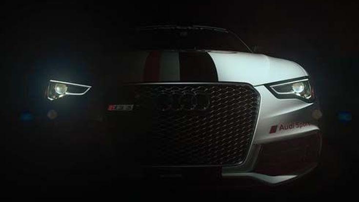 Audi เผยทีเซอร์ภาพ RS5 ตัวแข่ง Pikes Peak Hill Climb