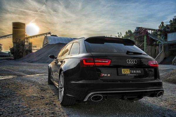 Audi RS6 Avant รีดพลัง 680 แรงม้าโดยสำนัก O.CT Tuning