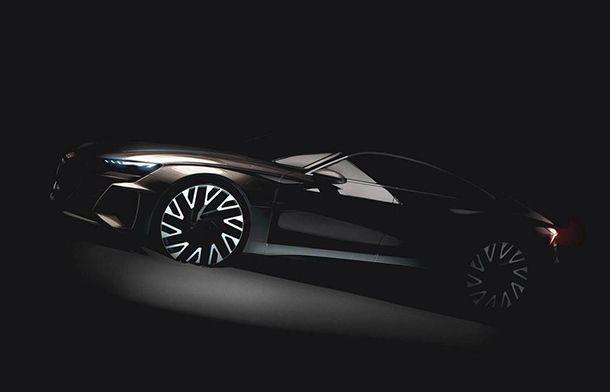 Audi ส่งทีเซอร์ E-Tron GT รถพลังงานไฟฟ้าสไตล์แกรนด์ทัวเรอร์