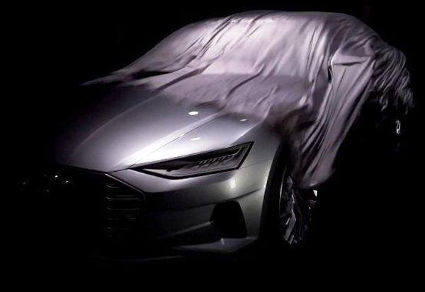 Audi ปล่อยทีเซอร์รถต้นแบบ A9 อีกรอบ เห็นไฟหน้าก็ปิ๊งแล้ว