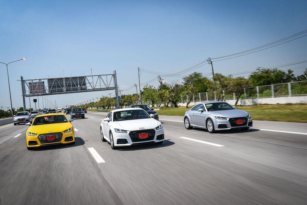 Audi Thailand ยิ้มรับยอดขายปี 2017 ทะลุเป้า 610 คัน TT พระเอกใหญ่ ปีนี้ตั้งเป้าเพิ่มเท่าตัว มั่นใจ