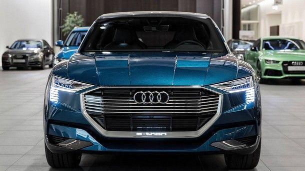 """ประธาน Audi เผยรถครอสโอเวอร์ไฟฟ้ารุ่นใหม่จะใช้ชื่อ """"E-Tron"""""""