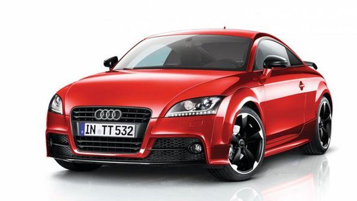 เพิ่มความสะดุดตา Audi TT Coupe และ Roadster เวอร์ชั่น Amplified Black