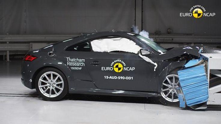 Audi TT คว้ามาตรฐานความปลอดภัยแค่ 4 ดาวทดสอบการชน