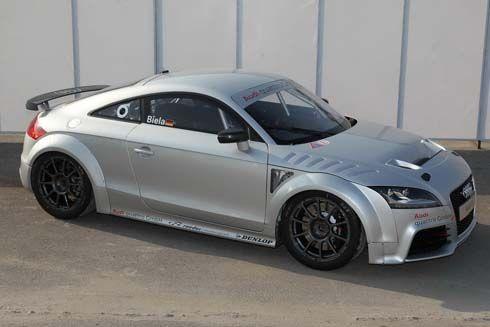 Audi TT GT4 สปอร์ตคูเป้สไตล์เรซซิ่ง อวดโฉมในสนามแข่งรายการ DTM เล็งเจาะตลาดเอเชีย