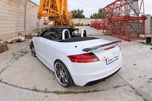Audi TT-RS สปอร์ตเปิดประทุน เสริมหล่อหน้าตา แรงม้าขยับอีก 89 ตัว โดย Senner Tuning