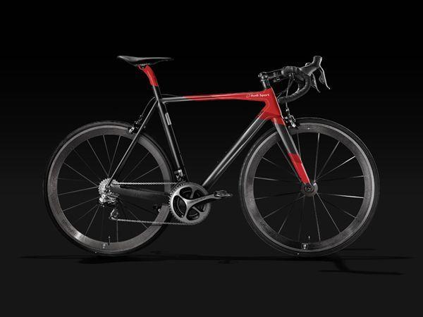 Audi ส่งจักรยานเสือหมอบน้ำหนักเบาหวิวแต่ราคาหนักอึ้งขายในญี่ปุ่น