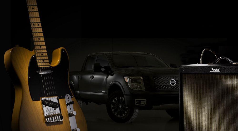 ร็อคให้สุดเสียง! กับชุดเครื่องเสียง Fender ใน 2019 Nissan Titan