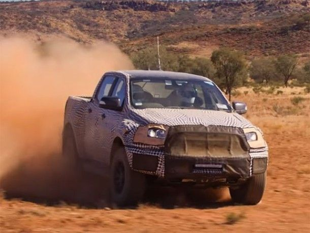 Ford Ranger Raptor จะมาพร้อมขุมพลังดีเซล Twin-Turbo สำหรับตลาดใน ออสเตรเลีย