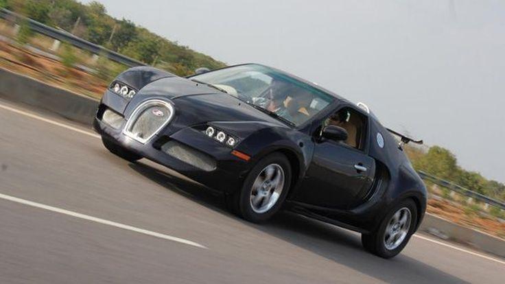 สุดยอดการโคลนนิ่ง Bugatti Veyron บนพื้นฐานของซับคอมแพกต์ Suzuki Swift
