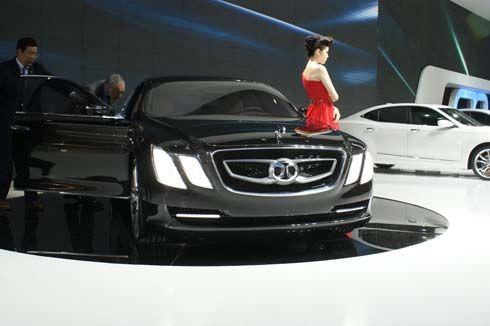 BAIC อวดโฉม C90L, C70G, C60F, C50E และ C51X ในงาน Auto China Show 2012
