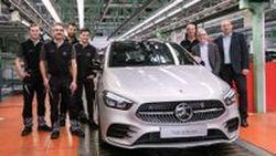 เริ่มผลิตแล้ว 2019 Mercedez Benz B-Class MPV ที่ประเทศเยอรมัน
