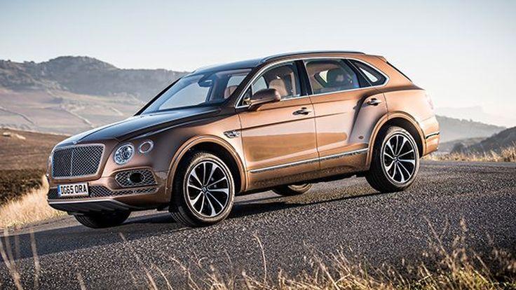 มาเร็วๆนี้ Bentley Bentayga ขุมพลังดีเซล