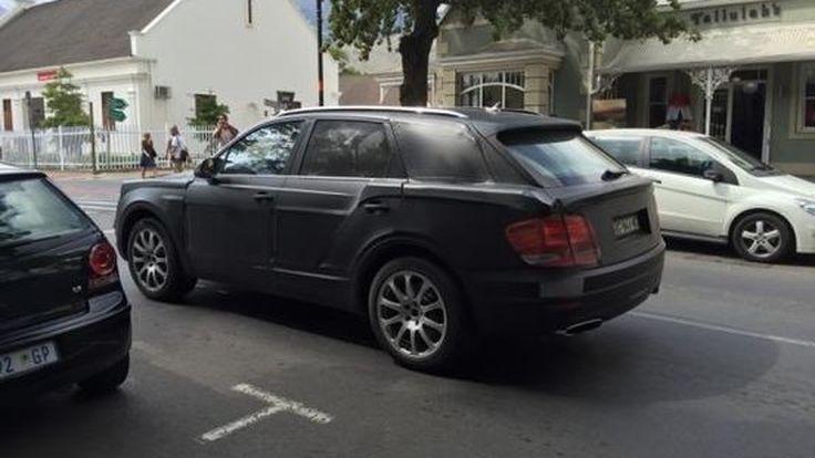 สปายช็อต! Bentley Bentayga ถูกจับภาพในแอฟริกาใต้