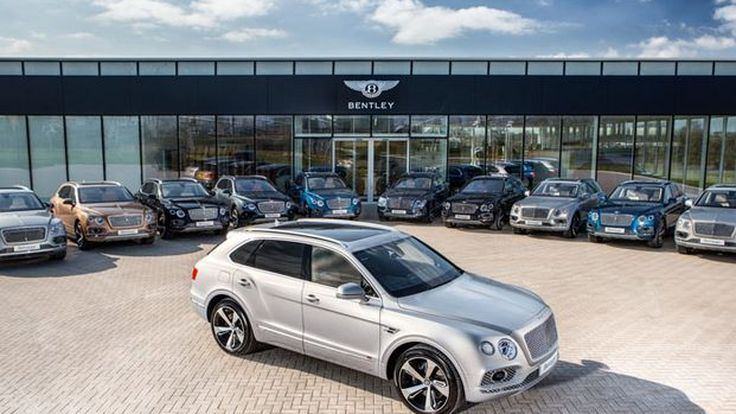 Bentley Bentayga ล็อตแรกส่งมอบให้ลูกค้า