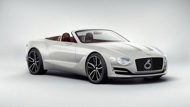 [Geneva 2017] Bentley EXP 12 Speed 6e Concept สุดยอดยนตกรรมหรูพลังไฟฟ้าจาก เบนลีย์