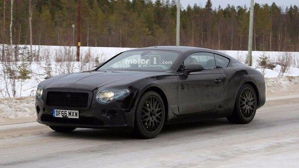 สปายช็อต Bentley Continental GT กับการเปิดเผยการพรางตัวมากยิ่งขึ้น