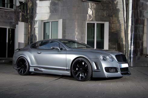 Bentley Continental GT Supersports 695 แรงม้า เสริมแรงแต่งหล่อโดย Anderson Germany