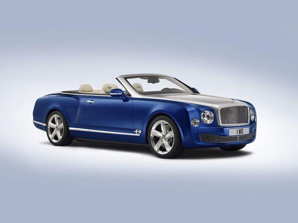 [LA Auto Show] Bentley Grand Convertible รถต้นแบบสุดหรู ว่าที่ Azure เจนเนอเรชั่นใหม่