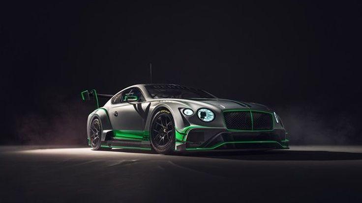 BENTLEY เผยโฉม CONTINENTAL GT RACE CAR ตัวแรงใหม่ล่าสุดของสายพันธุ์รถแข่ง