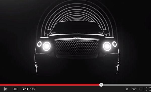 ไฟเขียวแล้วสำหรับโปรเจคผลิต (SUV) Bentley