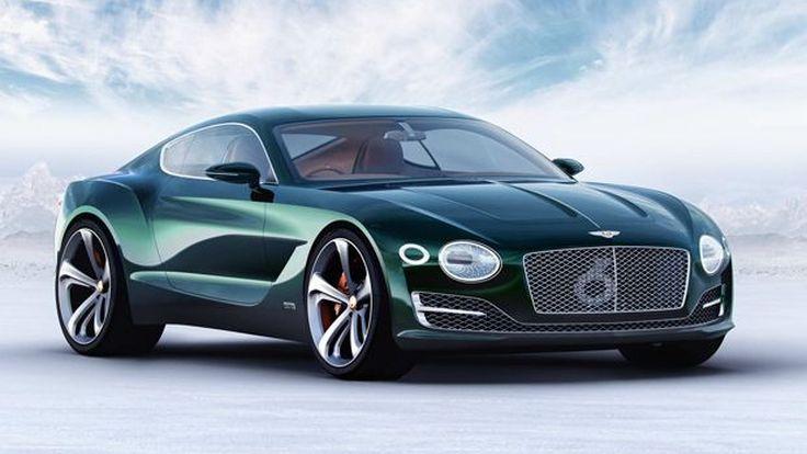 เบนท์ลียอาจพัฒนารถสปอร์ตพลังไฟฟ้า 500 แรงม้า