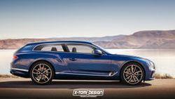 Bentley New Continental GT กับรูปลักษณ์สุดแปลกตา ผลงานการออกแบบจาก X-Tomi Design