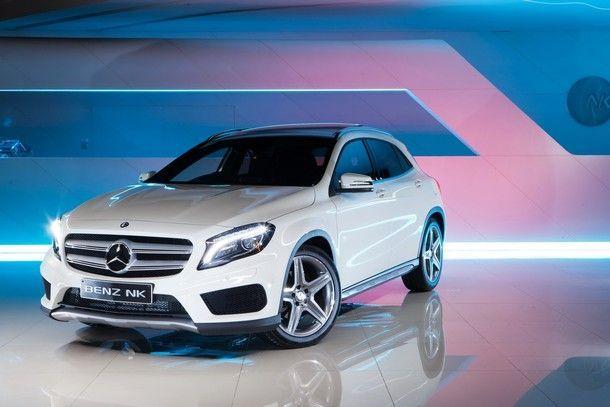 BENZ NK เปิดตัว New Mercedes GLA220 CDI AMG Full Option