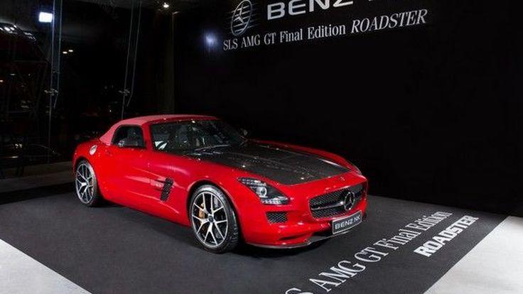 Benz NK เปิด SLS GT Final Edition Roadster  SLS เวอร์ชั่นสุดท้ายมีเพียง 350 คันทั่วโลก
