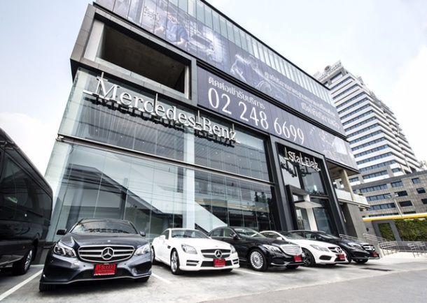 Benz StarFlag เปิดโชว์รูมหรู 800 ล้านเต็มรูปแบบ ตอกย้ำความเป็นตัวแทนจำหน่ายอันดับ 1