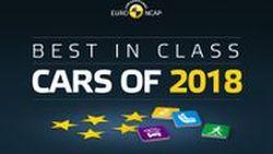 รางวัลรถปลอดภัยยอดเยี่ยมประจำปี 2018 ให้คะแนนโดย Euro NCAP