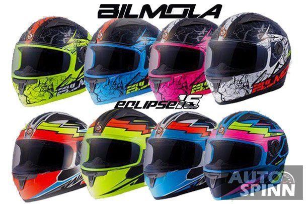 Bilmola Eclipse 2016 หมวกกันน็อควัยจ๊าบรุ่นฮิตโฉมใหม่กับ 8 ลายสุดแสบทรวง