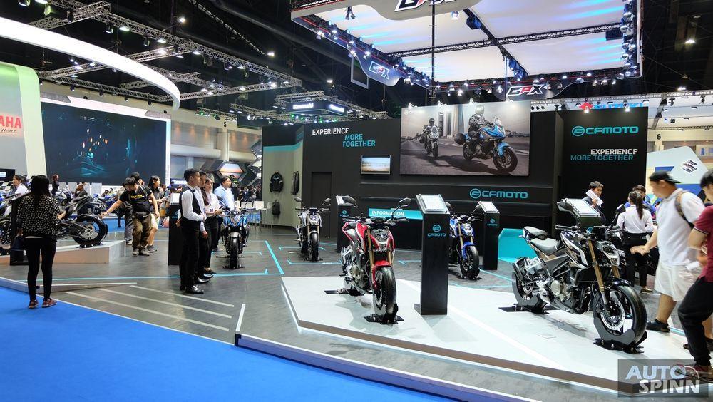 [BIMS2018] CF Moto อีกหนึ่งทางเลือกของสายบิด กับ 250cc. ที่ราคาเริ่มต้น 87,500 บาท