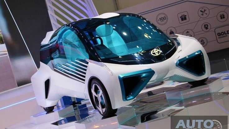 [BIMS2017] พาชม Toyota FCV Plus Concept คอนเซปต์คาร์พลัง Fuel-Cell ดีไซน์สุดล้ำใน Motor Show 2017