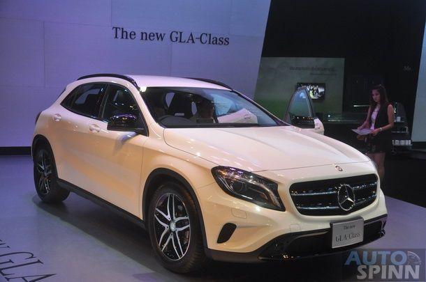 [BIMS2014] 2014 Mercedes-Benz GLA200 Urban Crossover คนเมืองเปิดตัวในงานมอเตอร์โชว์
