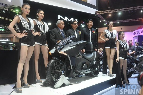[BIMS2014] Honda Bigbike ชูแบรนด์คอนเซปต์ใหม่ EXCITES THE WORLD เปิดตัวรถใหม่ 6 รุ่น นำทัพโดย NM4 บิ๊กไบค์คอนเซปต์ใหม่สุดล้ำ