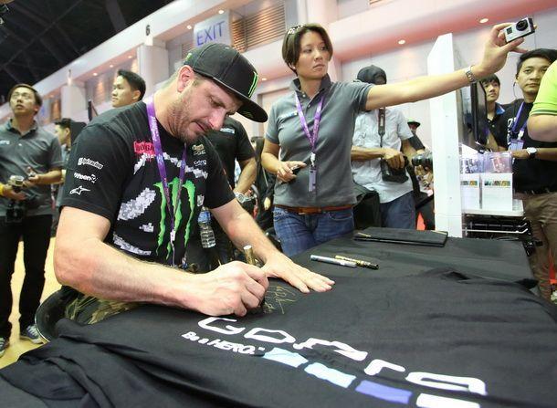 [BIMS2014] Ken Block สุดยอดนักแข่งแรลลี่ มาไทยเยือนบู๊ธ GoPro ในงาน Motor Show 2014