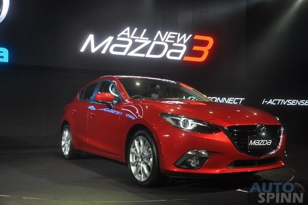 [BIMS2014] Mazda3 Skyactiv ใหม่ ยอดขายพุ่งกระฉูดวันแรกงานมอเตอร์โชว์