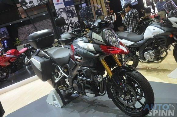 [BIMS2014] Suzuki เผยโฉม V-Strom 1000  Adventure พร้อมลุยทุกสภาพถนนบนโลกใบนี้